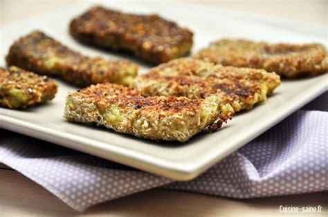 recette de cuisine bio recette bio nugget de brocoli cuisine saine