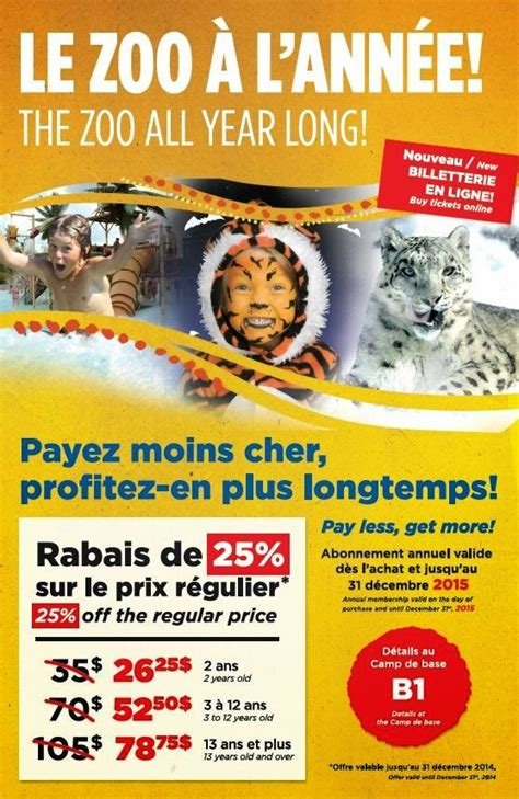 80720 Coupon Zoo Granby by Coupons Rabais Pour Le Zoo Granby Mgo Coupon Codes