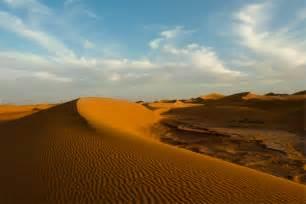 Sand Dune in the Sahara Desert in Morocco