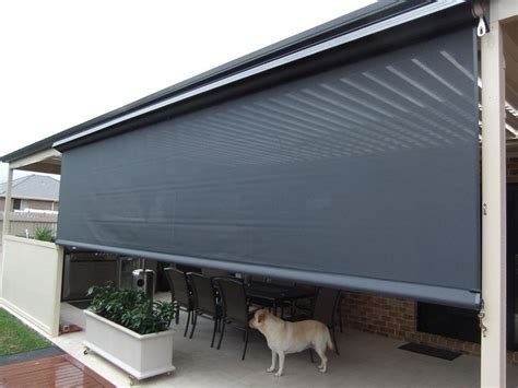 Outdoor Patio Blinds by Outdoor Blinds On Douglas Blinds Patio