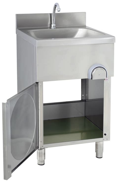 handwaschbecken mit unterschrank edelstahl gastroxtrem handwaschbecken mit unterschrank