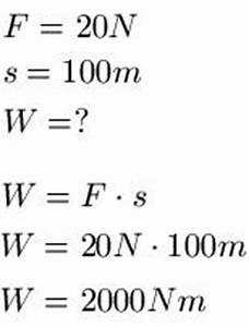 Physik Kraft Berechnen : formelzeichen arbeit energie kraft und leistung ~ Themetempest.com Abrechnung