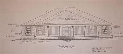 single floor plans front view and floor plan