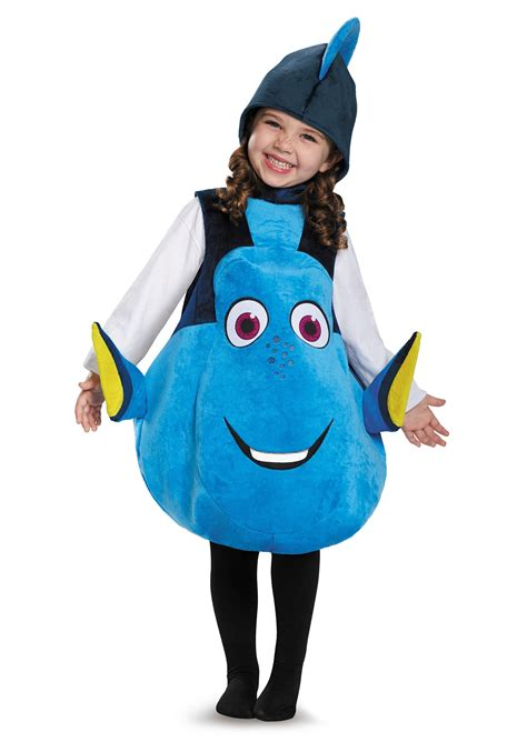 Child Deluxe Dory Costume from Finding Dory