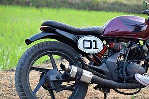 Modified Honda Unicorn 150 Café Racer by Costa Motorcycle Co