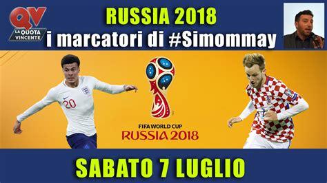 Scopri chi è il miglior realizzatore del campionato italiano. Pronostici marcatori Mondiali 7 luglio: i marcatori di # ...
