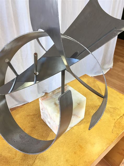 Monumental Abstract Steel Sculpture by Curtis Jeré - Past ...