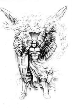 Badass Tattoos Sketches | Badass Angel Tattoo | cool tattoo | Pinterest | Traditional, Tattoo