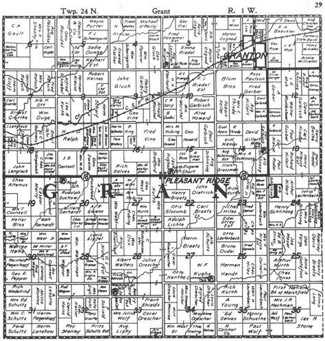 Grant county south dakota plat map sciox Gallery