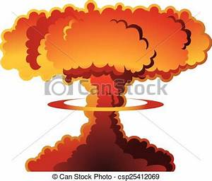 Mushroom cloud clipart - Clipground