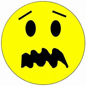 Scared Smiley Face - ClipArt Best
