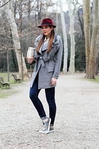 Faldas de moda u00bb Outfits grises para mujer 2018 5
