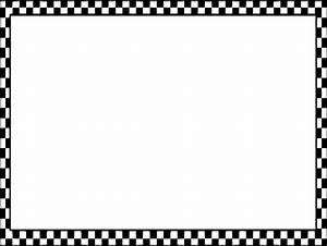 Black Checkerboard Border Clip Art at Clker.com - vector ...