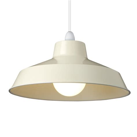 small dual fitting pluto metal lighting pendant shades