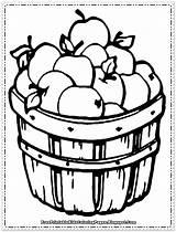 Coloring Apple Fruit Pages Printable Preschoolers Sheets Drawing Fall Getdrawings Fun sketch template