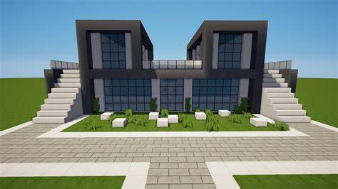 Modernes Haus Minecraft Jannis Gerzen by Minecraft Modernes Symetrisches Haus Bauen Tutorial Haus
