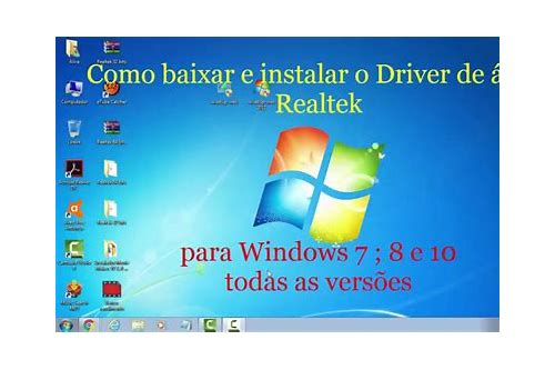 baixar do driver de audio 82801fb