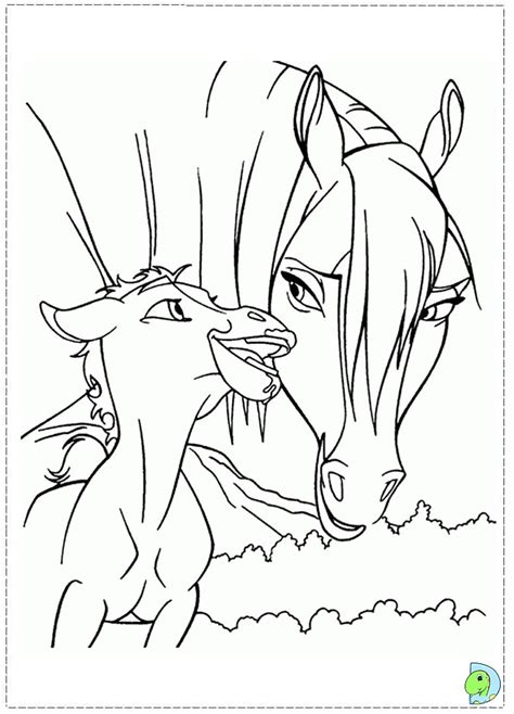 spirit coloring pages    print