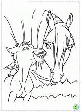 Spirit Coloring Pages Stallion Cimarron Dinokids Printable Cartoons Getcolorings Popular Comments Close sketch template