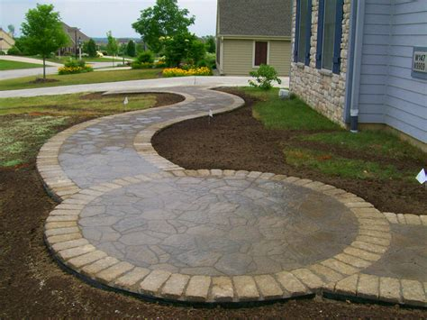 patio walkway ideas walkways wirth services inc germantown wisconsin belgard patio landscaping