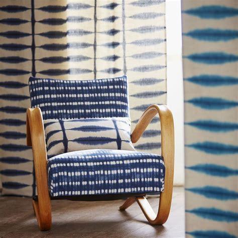 beautiful decorative   shibori indigo patterns