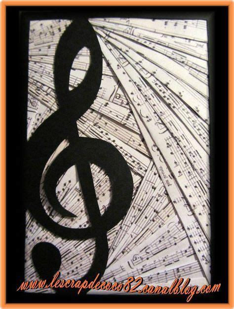 carte iris folding musique le scrap de coco pliage