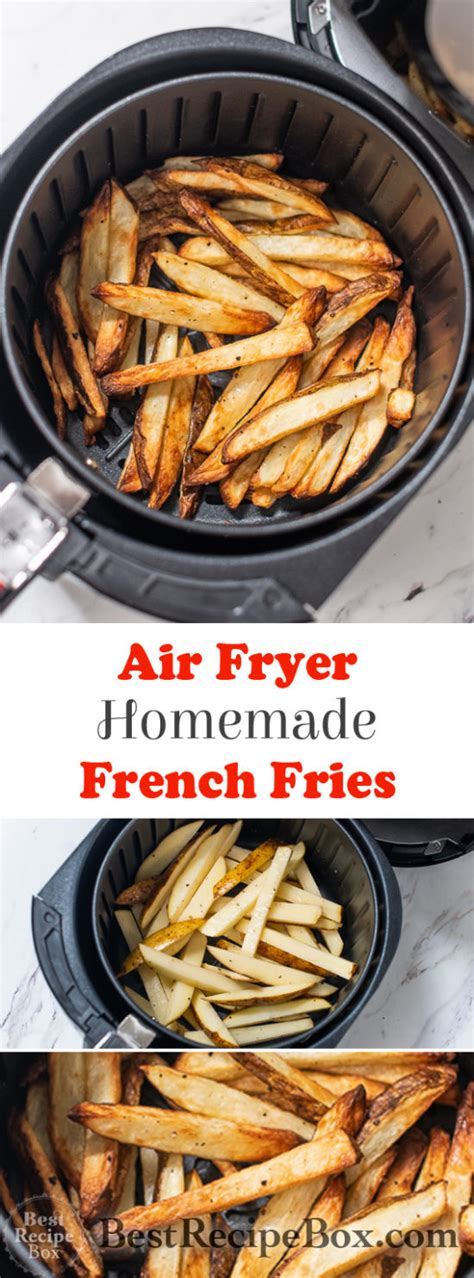 fries fryer air french homemade crispy recipe easy quick recipes healthy fry oven bestrecipebox fried potatoes dinner box