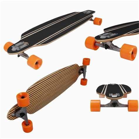 drop longboard decks bamboo drop through longboard complete
