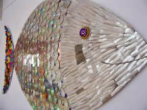 CD Recycled Art Projects Fish
