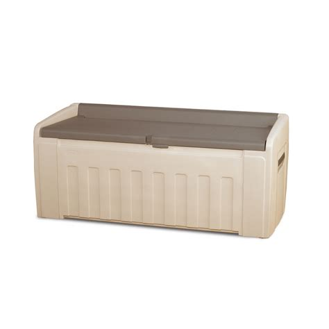 Suncast 195 Gallon Deck Box Canada by Lowe S Deck Box Images