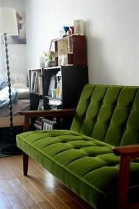 Sofa Samt Grün : 66 gr ne sofas in verschiedenen formen und designs ~ Michelbontemps.com Haus und Dekorationen