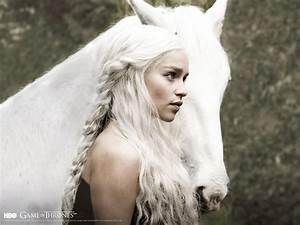 Daenerys Targaryen - TV Female Characters Wallpaper ...
