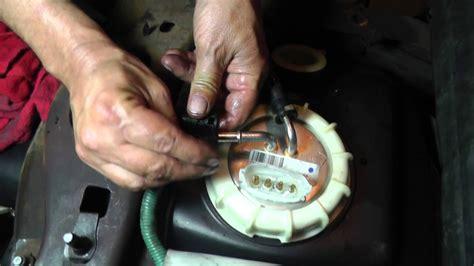 Ford Ranger Fuel Gauge Diagnosis Part Sending Unit