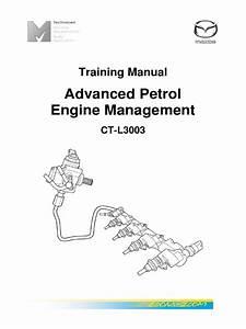 Mazda Advanced Petrol Engine Management English