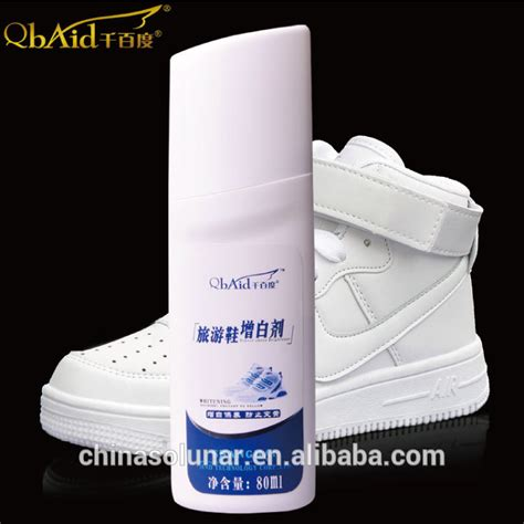 quot cirage chaussure cuir blanc