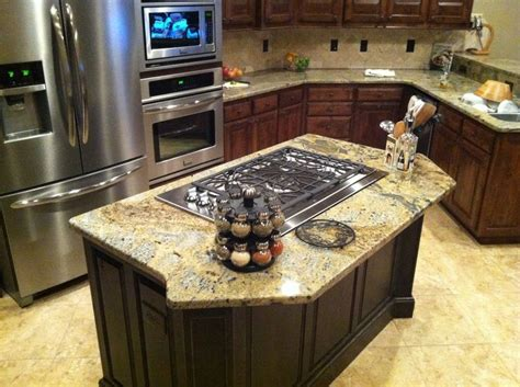 kitchen island cooktop kitchen island gas cooktop island cooktop