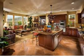Flooring Ideas For Living Room And Kitchen by How To Decorate Open Concept Homes TTV Decor