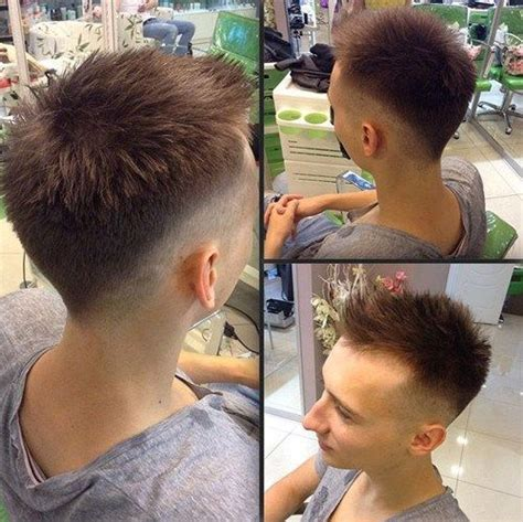 Boy Faux Hawk Hairstyle by Pin On Hairstyles