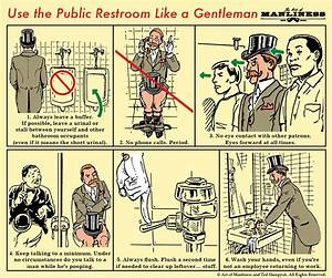 Public restroom etiquette for men the art of manliness for How often should you use the bathroom