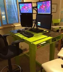 Schreibtisch selber bauen 106 originelle vorschlage for Pc tisch selber bauen