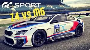 Bmw M6 Sport : gt sport rivals bmw showdown z4 gt3 vs m6 gt3 youtube ~ Medecine-chirurgie-esthetiques.com Avis de Voitures
