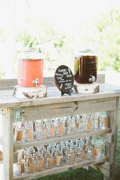 Mason Jar Drink Dispensers, Mason Jar Mugs and one Lovely