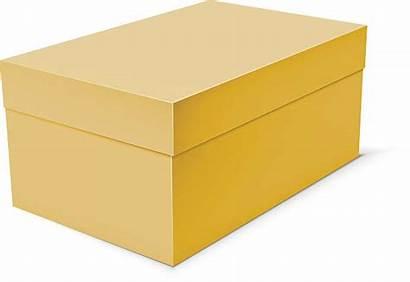 Box Clipart Shoe Clip Schuhkarton Cardboard Vector