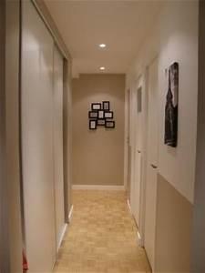 2 couloirs long tres etroit et sombre avec escalier With awesome quelle couleur pour un couloir 7 cage escalier et hall dentree