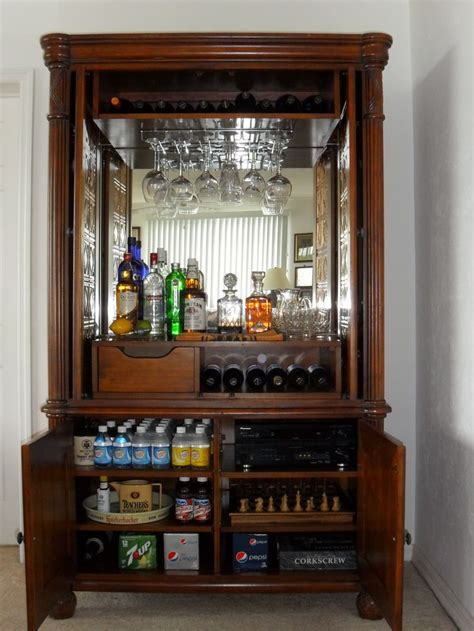 Armoire Bar Ideas 17 Best Images About Armoire To Bar Ideas On