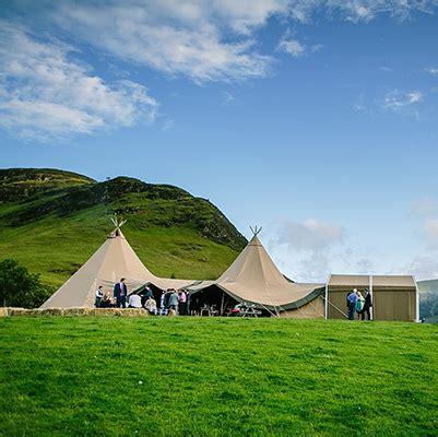 wedding venues  cumbria north west fjell event tipis