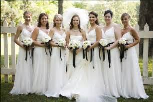 bridesmaid wedding dresses wedding blogs white bridesmaid dresses