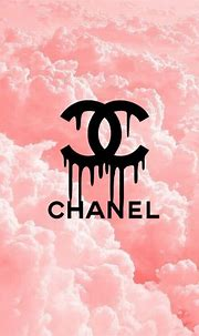 Imagen de chanel, pink, and clouds | Chanel wallpapers ...