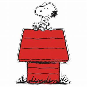 Snoopy On Dog House Paper Kids Cut Outs Classroom