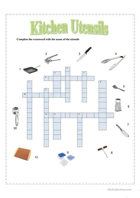 Kitchen Equipment Worksheet Answers by Kitchen Utensils Worksheet Answer Key Empowered By Them